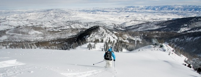 Canyons/Utah - Canyons Resort Skier - Credits Canyons Resort