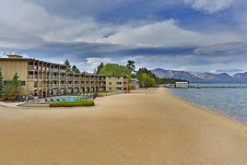 USA/Heavenly-Lake Tahoe/Lakeshore-Lodge-and-Spa-Außenansicht